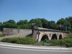 Römischer Brückennachbau